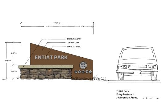 Entiat Park Sign Concept