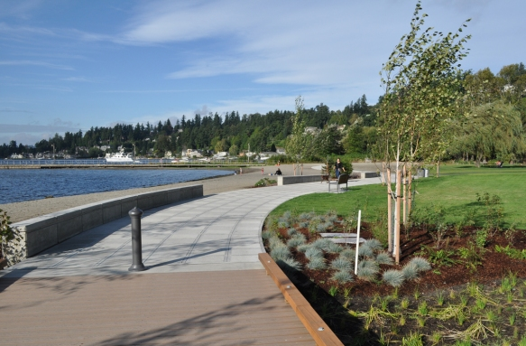 Changes in materials need careful consideration, (Juanita Beach Park, Kirkland, WA)
