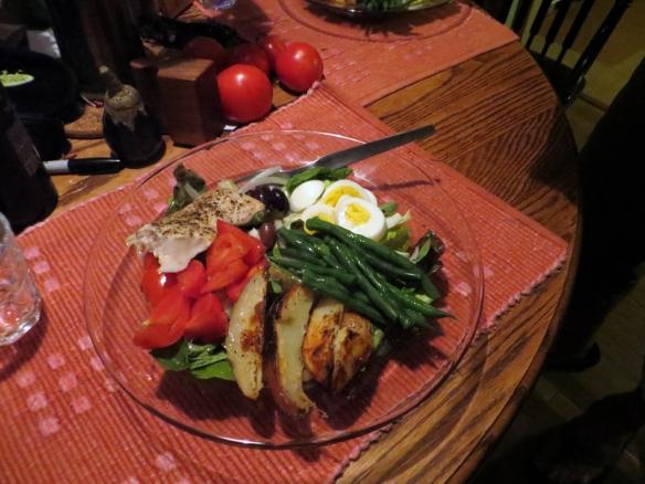 Salad Nicoiseps