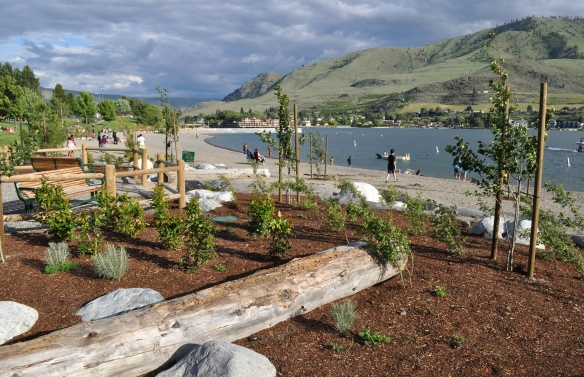 Don Morse Park in Chelan celebrated its grand opening in time for July 4th.