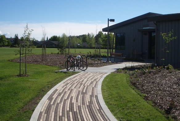 Whatcom Community College completed construction of the  Auxiliary Service Building (ASB).