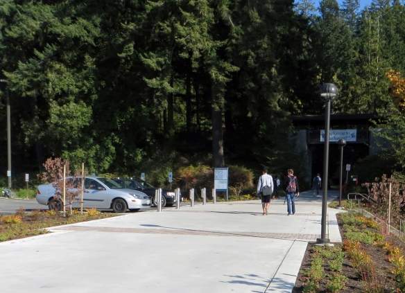 Western Washington University completed construction of the new Fairhaven College entry.